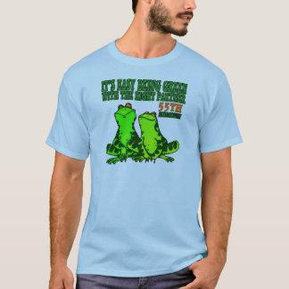 de 55ste Giften van het Jubileum van het Huwelijk T Shirt