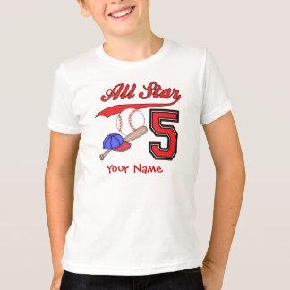 De 5de Gepersonaliseerde Verjaardag van het T Shirt