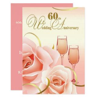 de 60ste Uitnodigingen van de Partij van het