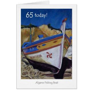 de 65ste Kaart van de Verjaardag - Algarve