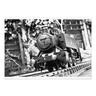 de 65ste trein van de Verjaardag nodigt uit