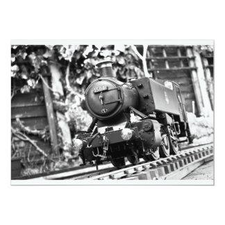 de 65ste trein van de Verjaardag nodigt uit Custom Uitnodging
