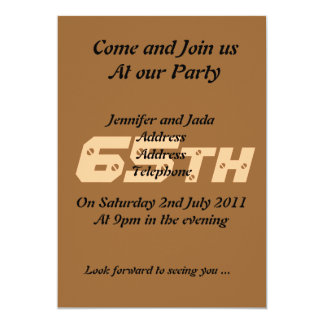 de 65ste Uitnodiging van de Partij van de