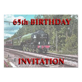 de 65ste Uitnodiging van de Verjaardag