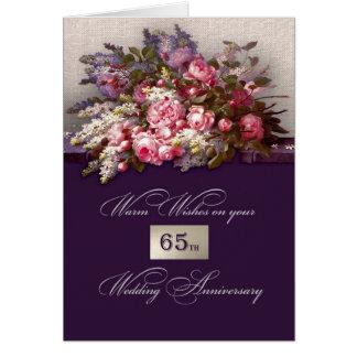 de 65ste Wenskaarten van de Verjaardag van het Huw