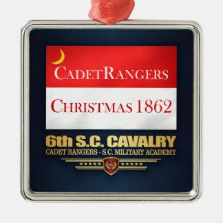 de 6de Cavalerie van Sc (de Bereden politie van de Zilverkleurig Vierkant Ornament