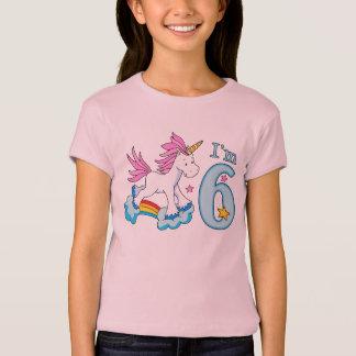 De 6de Verjaardag van de Regenboog van de eenhoorn T Shirt