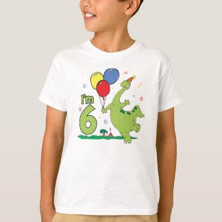 De 6de Verjaardag van Dino T Shirt