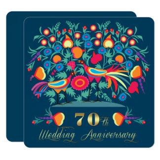 de 70ste Uitnodigingen van de Partij van het