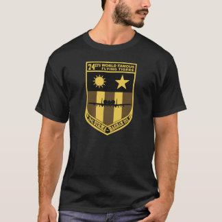 de 74ste Expeditie Vliegende Tijgers van het T Shirt