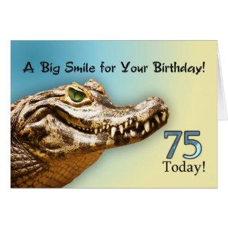 de 75ste Kaart van de Verjaardag