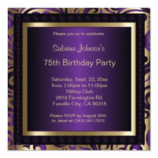 de 75ste Uitnodiging van de Partij van de