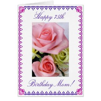 De 75ste Verjaardag van het mamma Kaart