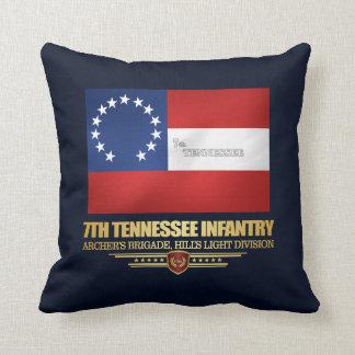 de 7de Infanterie van Tennessee Sierkussen