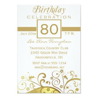 de 80ste - 89ste Uitnodigingen van de Partij van