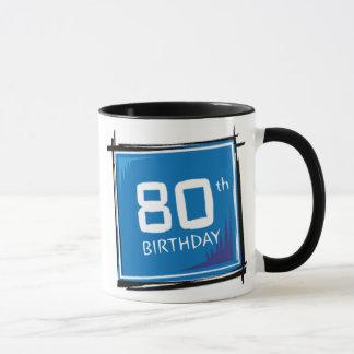 de 80ste Mok van de Giften van de Verjaardag