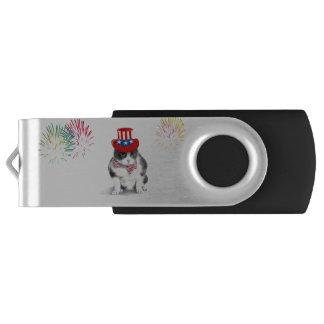 De Aandrijving die van de Flits van USB Felix Swivel USB 3.0 Stick
