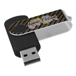 De Aandrijving van de Flits van Eleison van Kyrie Swivel USB 2.0 Stick