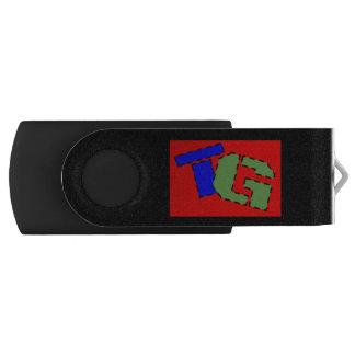 De Aandrijving van de Flits van technologie Geek Swivel USB 2.0 Stick