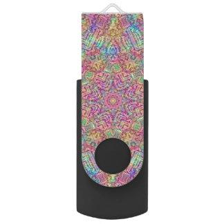 De Aandrijving van de Flits van USB     van de Swivel USB 2.0 Stick