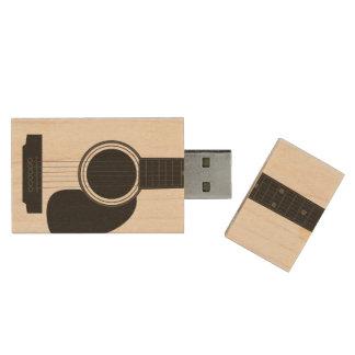 De Aandrijving van USB van de Esdoorn van de Houten USB 2.0 Stick