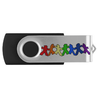 De Aandrijving van USB van Doll van het Document Swivel USB 2.0 Stick