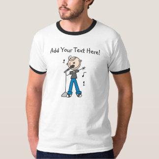 De aangepaste T-shirt van de Zanger van het Cijfer