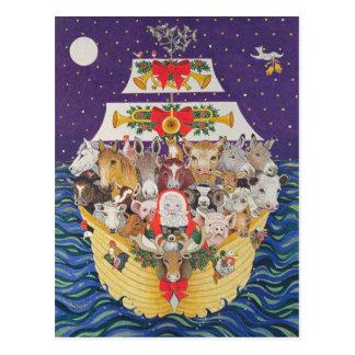 De Aankomst van Kerstmis Briefkaart