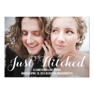 De Aankondiging van het Huwelijk Hitched enkel -