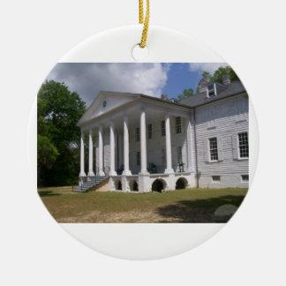 De Aanplanting van Hampton Rond Keramisch Ornament