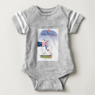 De aanraking van het football neer, tony fernandes baby bodysuit