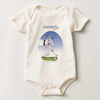 De aanraking van het voetbalveld neer, tony baby shirt