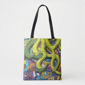 De Aanval van de octopus Draagtas