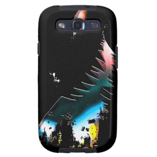 De Aanval van de stad - de Kosmische Energie Samsu Galaxy S3 Case