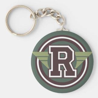 """De Aanvankelijke Brief """"R"""" van het Monogram van de Sleutelhanger"""