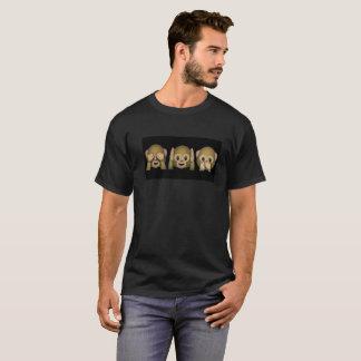 De Aap Peekaboo van Emoji T Shirt