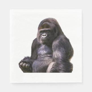 De Aap van de Aap van de gorilla Papieren Servetten