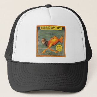 De Aap van de barracuda Trucker Pet