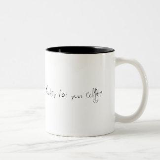 De Aap van de zombie heeft uw koffie Tweekleurige Koffiemok