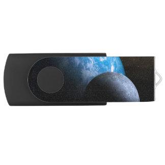 De aarde en de Maan USB Stick