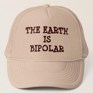 De aarde is Bipolair Trucker Pet