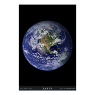 De aarde poster