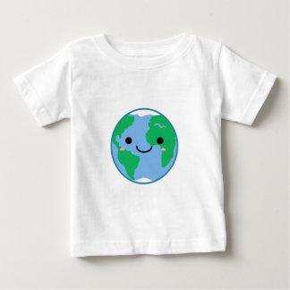 De Aarde van Kawaii Baby T Shirts
