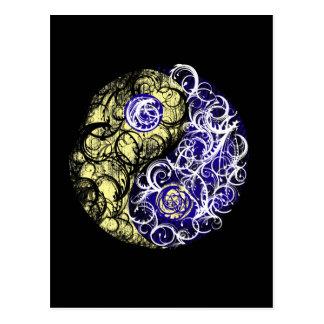 De Aarde van Yang van Yin Briefkaart