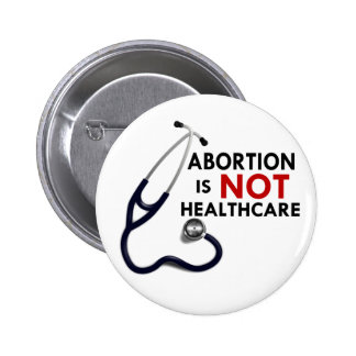 De abortus is geen Gezondheidszorg Ronde Button 5,7 Cm