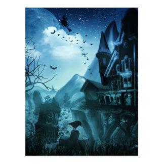 De abstracte Achtergronden van Halloween Briefkaart