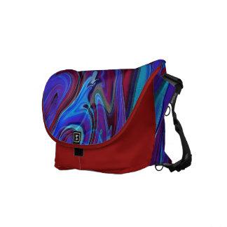 De abstracte Amerikaanse Psychedelische Zak van de Messenger Bag