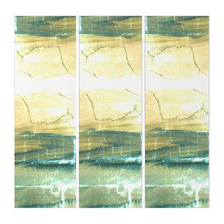 De abstracte Geweven Organische Druk van het Drieluik