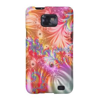 De abstracte Kleuren van het Vuurwerk Galaxy S2 Cover