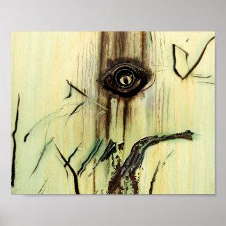 De Abstracte Kunst van de roest - Koele Unieke Poster
